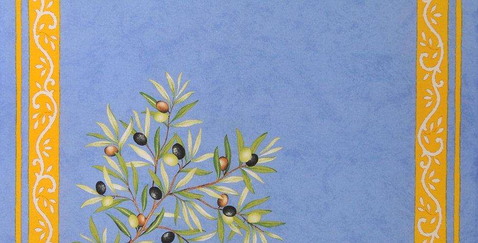 Blue/Yellow Clos de Oliviers Napkins