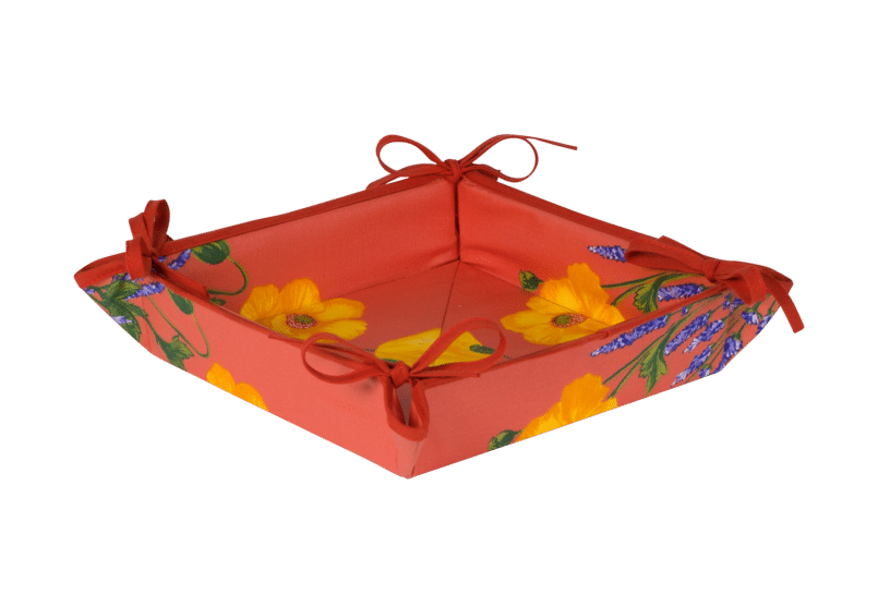 Orange Poppy & Lavender Basket