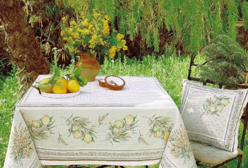Menton Jacquard Tapestry Tablecloth