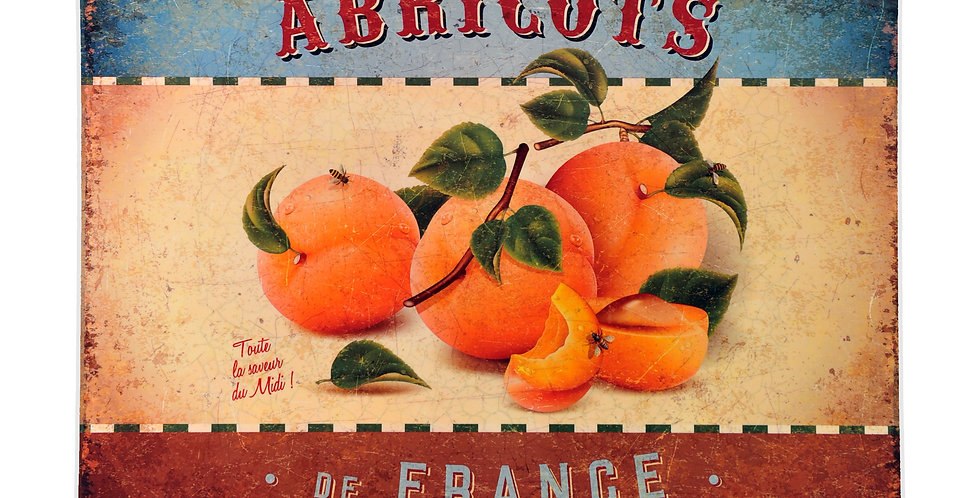 Apricots Laminated Placemat