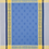 Thumbnail: Blue/Yellow Vaucluse Jacquard Woven Kitchen Towel