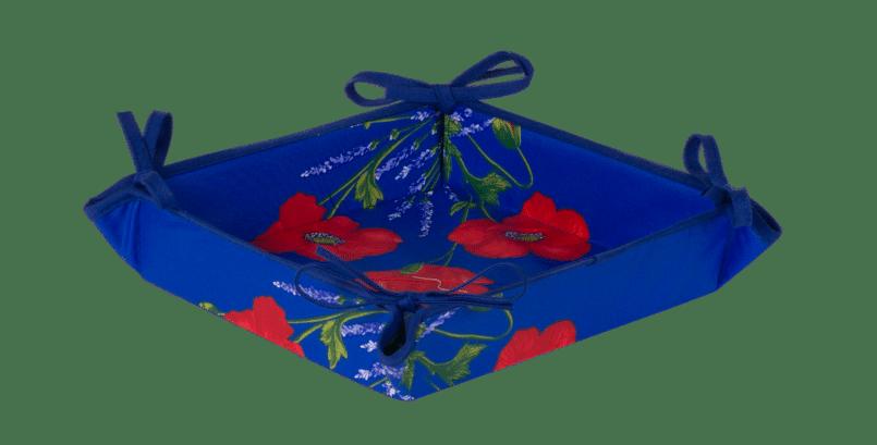 Blue Poppy & Lavender Basket