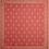 Thumbnail: French Napkin Jacquard Red Durance
