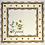 Thumbnail: Rose Moustiers Printed Cotton Napkin