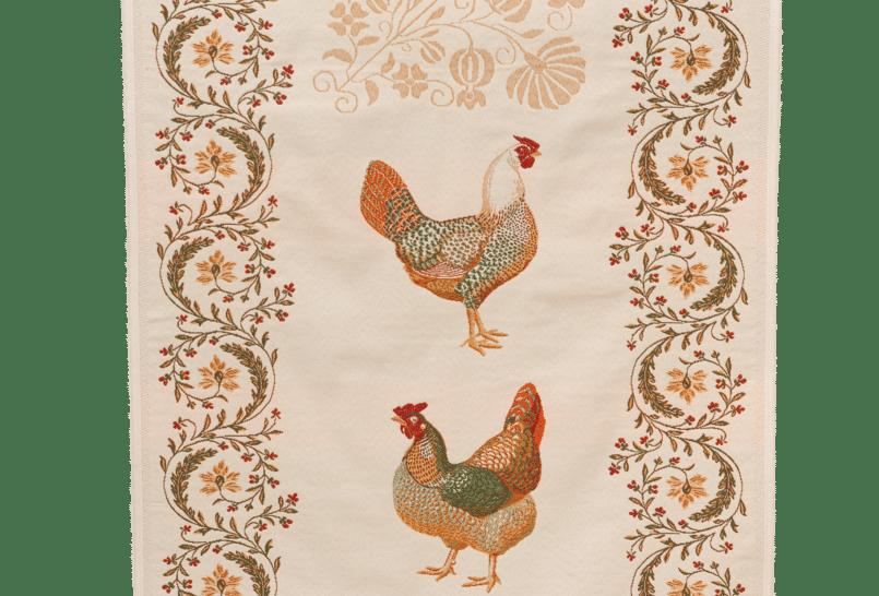 Chanteclair Jacquard Tapestry Table Runner