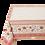 Thumbnail: Ecru/Orange Sillans Jacquard Tapestry Tablecloth