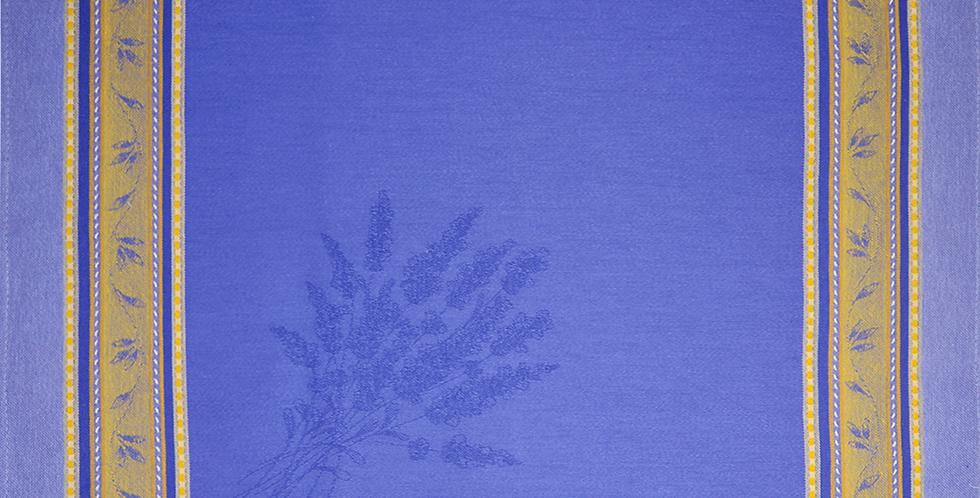 Blue/Yellow Senanque Jacquard Woven Napkin