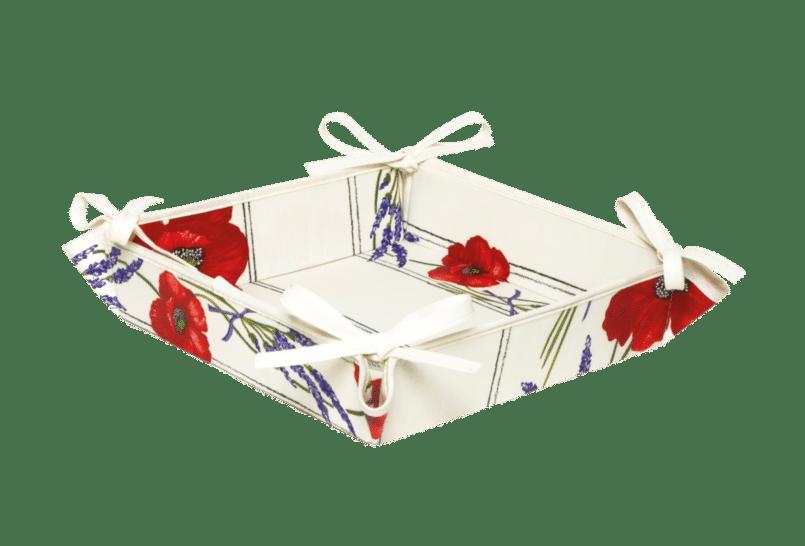 White Poppy & Lavender Basket
