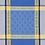 Thumbnail: French Napkin Jacquard Blue/Yellow Vaucluse