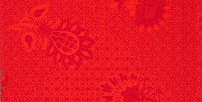 Red Ribeauville Jacquard Woven Napkin