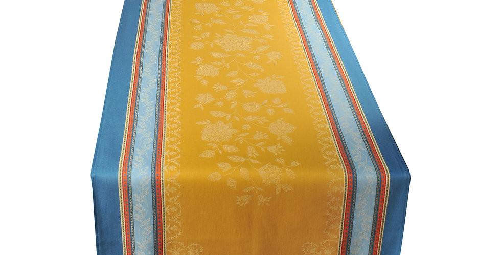Curry Ramatuelle Jacquard Woven Table Runner
