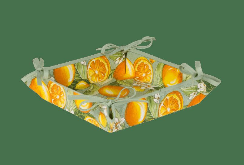 Green Citron Basket