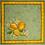 Thumbnail: Green Citron Printed Cotton Napkin