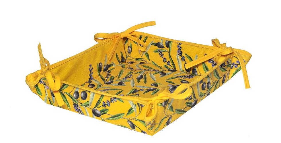 Yellow Lauris Basket