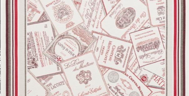 Bordeaux Jacquard Tapestry Table Topper