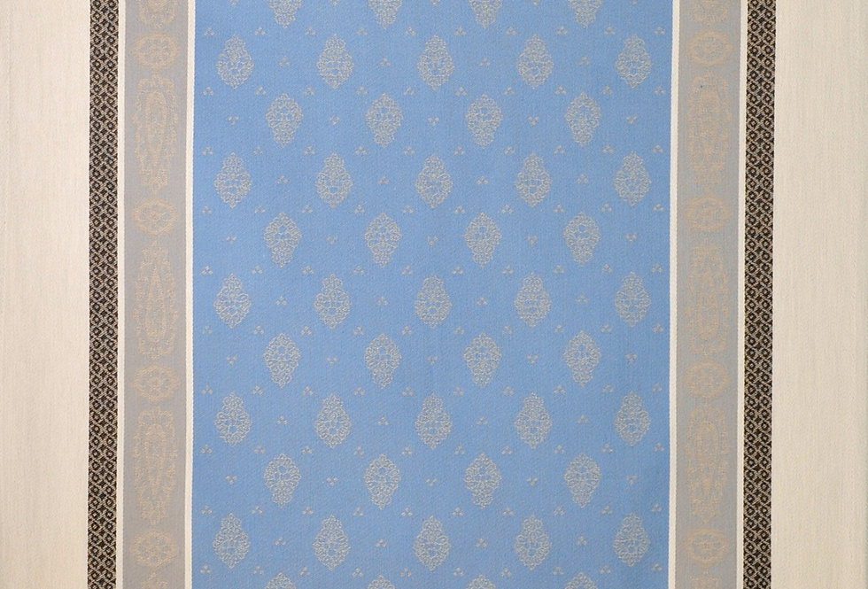 Blue/Grey Vaucluse Jacquard Woven Kitchen Towel