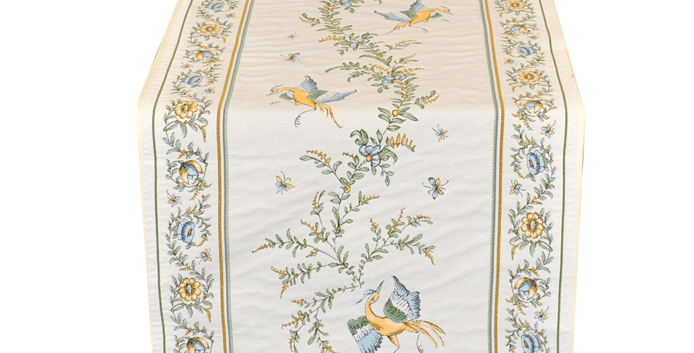 Moustiers Jacquard Tapestry Table Runner