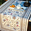 Thumbnail: Blue Sillans Jacquard Tapestry Table Runner