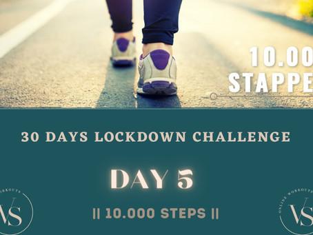 10.000 stappen per dag