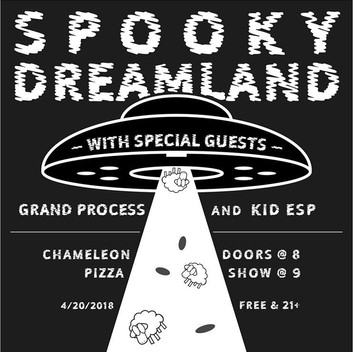 A Fully Baked Night: Kid ESP and Spooky Dreamland at Chameleon