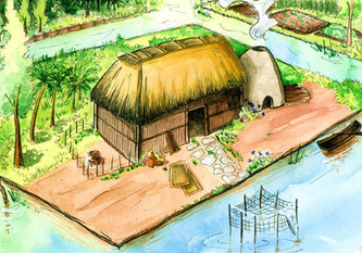 House in the Chinampas