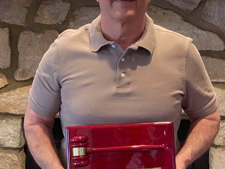 My Academy of Laser Dentistry Presidential Service Award