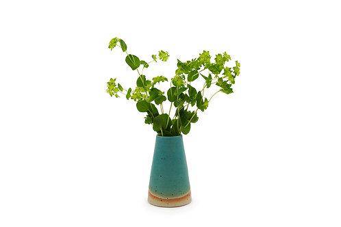 Speckle Bud Vase -Turquoise