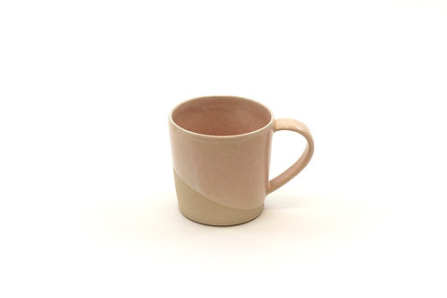 6oz cup with handle- Coral Sand
