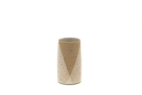 Medium Vase- White Speckle