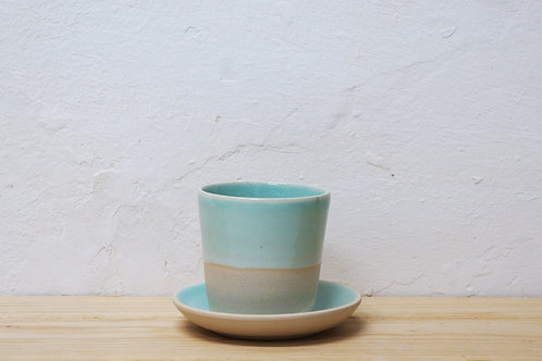 Set of 2: 5-6oz cup and saucer