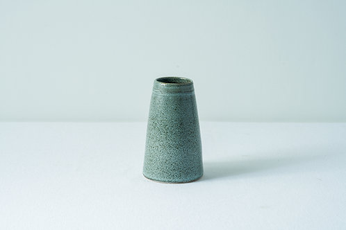 Bud Vase-textured black/grey
