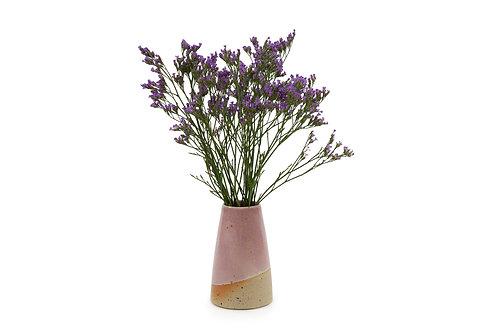 Speckle Bud Vase-Pink