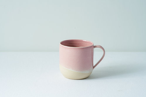 12 oz Handled cup-Pink