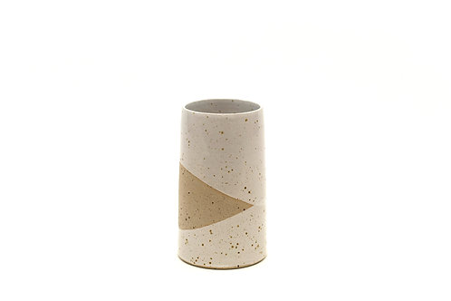 Medium Vase- White Speckle