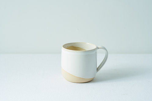 12 oz Handled cup- White