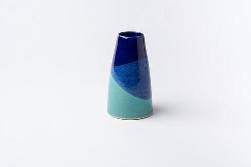 Bud Vase-Blue/Green