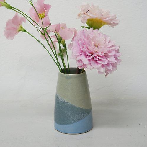 Mini Vase- Cornflower blue/Grey