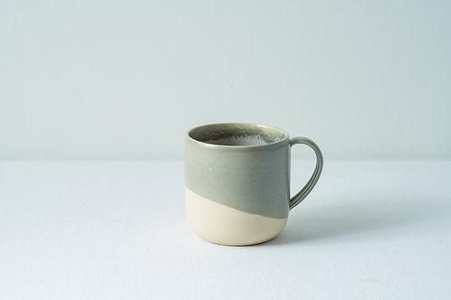 12 oz Handled cup- Grey