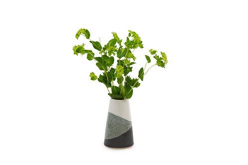 Bud vase- Black & White