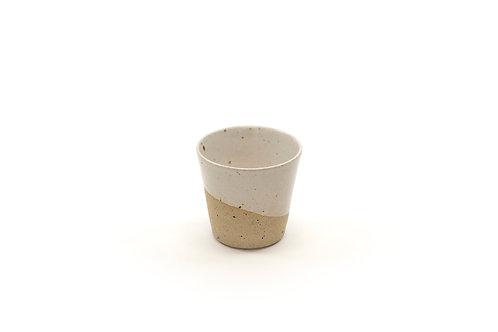 3oz espresso cup - White Speckle