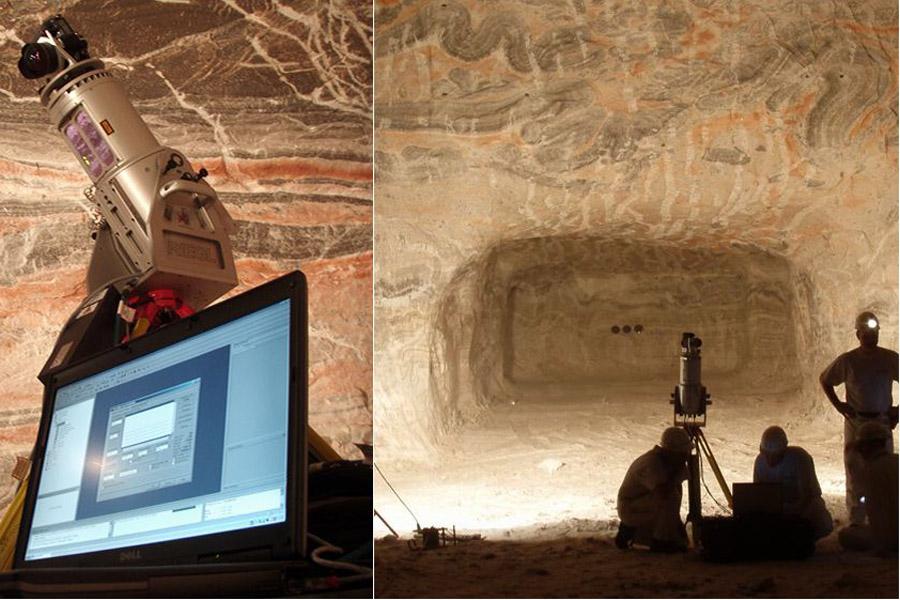 3D Scans des Höhlensystems