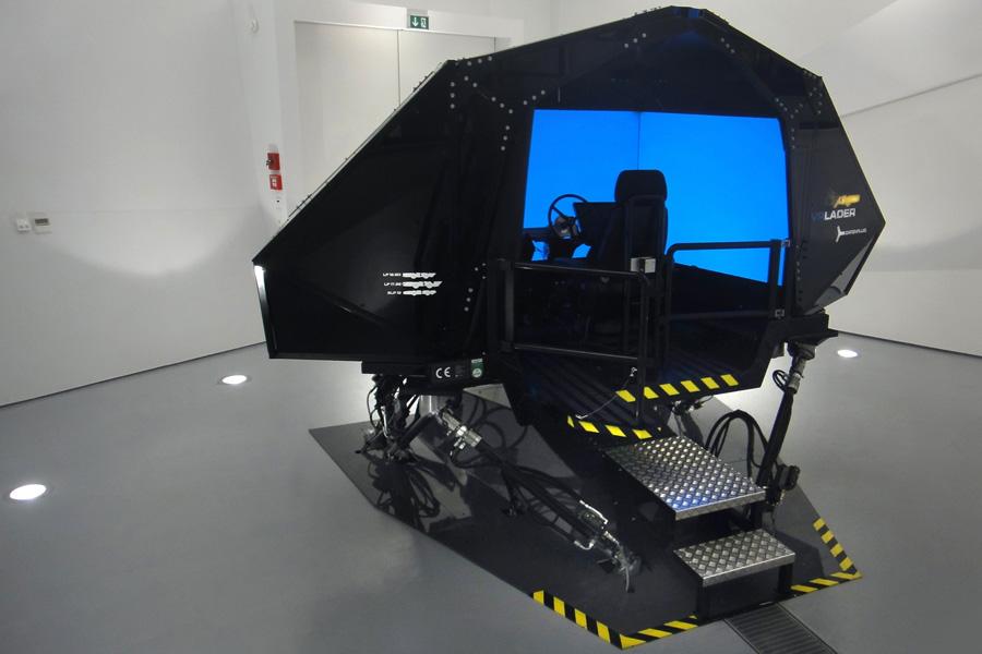 Schulung im Lader Simulator