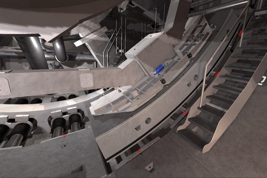 VR Training eines Tunnelbohrers