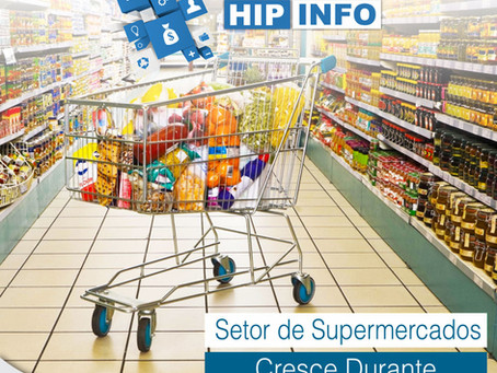 SETOR DE SUPERMERCADOS CRESCE DURANTE A PANDEMIA