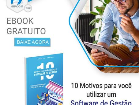 EBOOK GRÁTIS - 10 motivos para você utilizar um software de gestão em sua loja