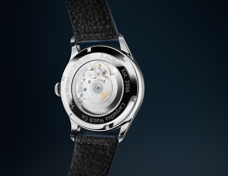 Carpathia Ascent Caseback