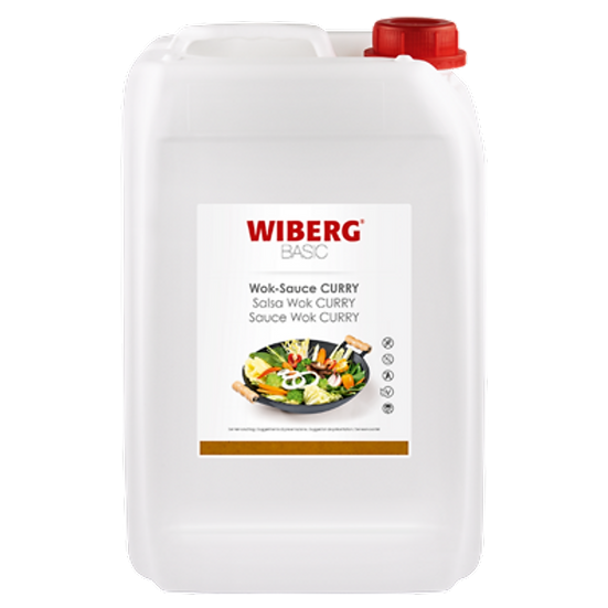 WIBERG Wok sauce curry basic 5kg