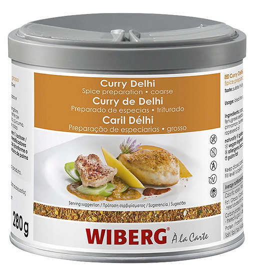 WIBERG Curry delhi coarse spice prep 280gr only