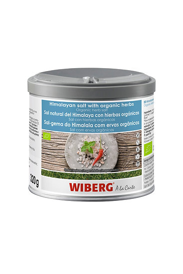 WIBERG Himalayan salt 850g with org herbs only