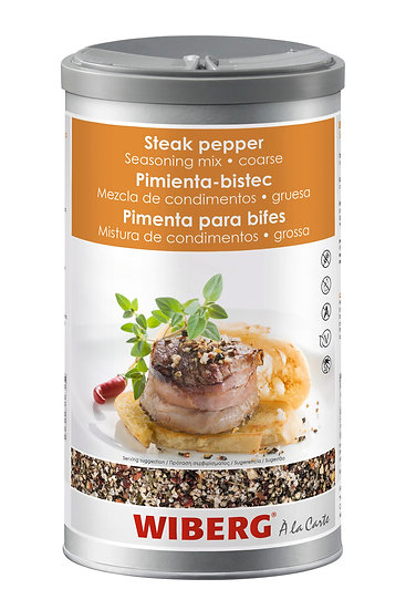 WIBERG Steak pepper seasoning mix #coarse 650gr only